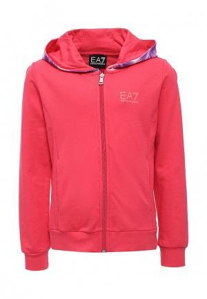 Толстовка EA7. Цвет: розовый