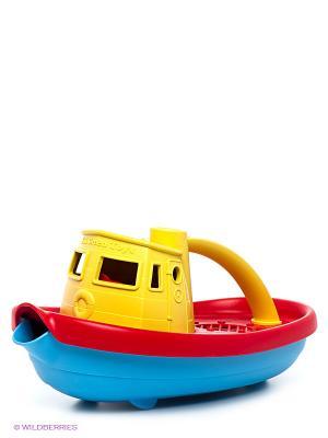 Игрушка Буксир Green Toys. Цвет: красный, желтый
