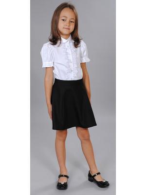 Блузка Милашка Сьюзи. Цвет: белый
