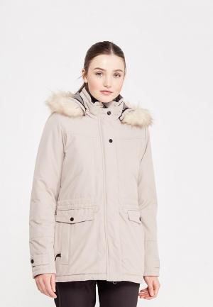 Куртка утепленная Torstai. Цвет: бежевый