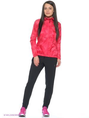 Куртка fuzeX PACKABLE JACKET ASICS. Цвет: красный, коралловый, розовый