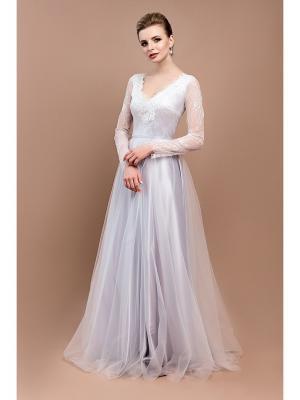 Свадебное платье Tavifa wedding fashion. Цвет: серебристый