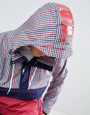Christopher Shannon Красная куртка в клетку Kidda By. Цвет: красный