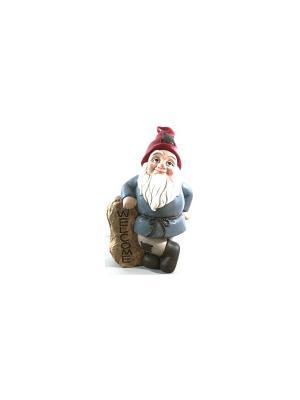 Садовая фигура - Гномик Marquis. Цвет: белый, красный