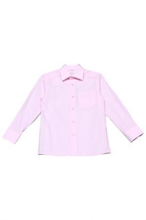 Сорочка Cleverly. Цвет: розовый