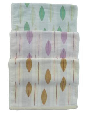 Набор полотенец A and C Collection. Цвет: зеленый, молочный, розовый
