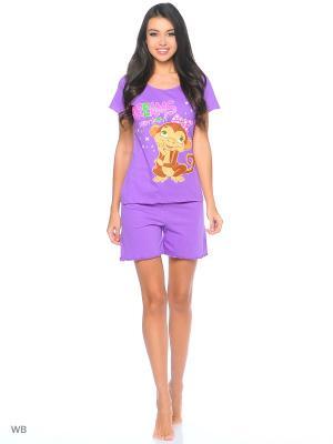 Пижама Vilana. Цвет: сиреневый