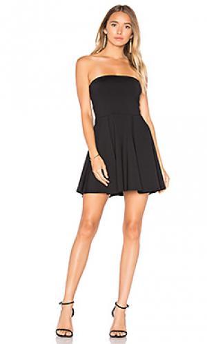 Платье без бретелек 16 lanie Susana Monaco. Цвет: черный