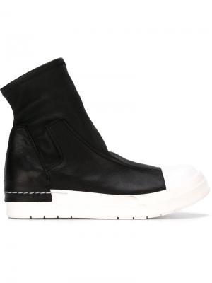 Ботинки-хайтопы Cinzia Araia. Цвет: чёрный