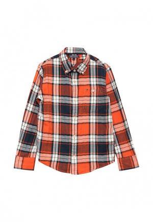 Рубашка Tommy Hilfiger. Цвет: оранжевый