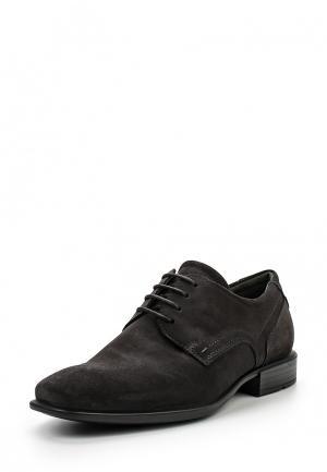 Туфли Ecco. Цвет: серый