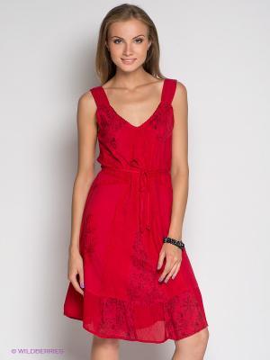 Платье Coline. Цвет: красный
