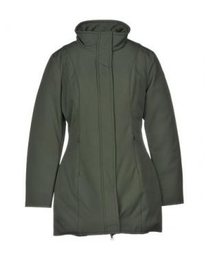 Пальто CENSURED. Цвет: зеленый-милитари