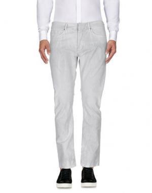 Повседневные брюки RING. Цвет: светло-серый