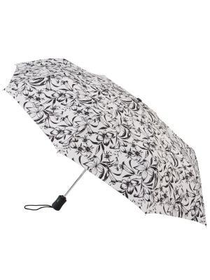 Зонт женский автомат Fulton. Цвет: белый