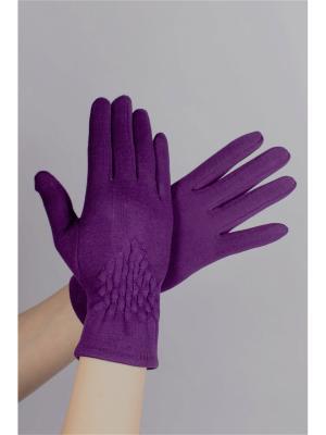 Перчатки Sophie Ramage. Цвет: фиолетовый