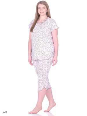 Пижама Vilana. Цвет: коричневый