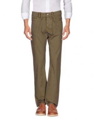 Повседневные брюки HISTORIC RESEARCH. Цвет: хаки