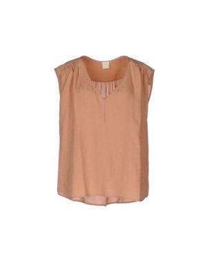 Блузка DES PETITS HAUTS. Цвет: пастельно-розовый