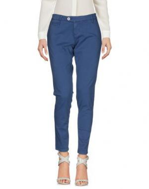 Повседневные брюки OAKS. Цвет: грифельно-синий