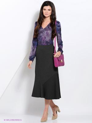 Блузка Valeria Lux 17290. Цвет: фиолетовый