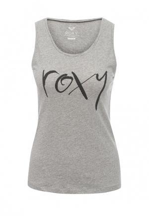 Майка Roxy. Цвет: серый