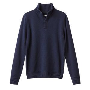 Пуловер крупной вязки SCHOTT. Цвет: антрацит,синий морской