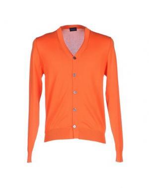 Кардиган DRUMOHR. Цвет: оранжевый