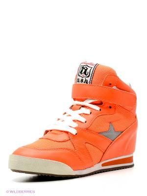 Сникеры ASH. Цвет: оранжевый