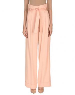Повседневные брюки SPACE STYLE CONCEPT. Цвет: розовый