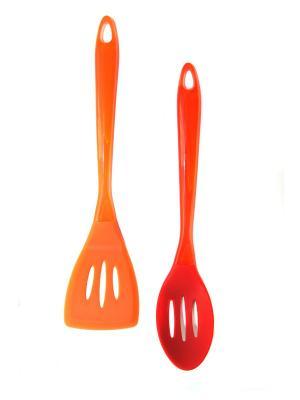 Набор кухонных принадлежностей DiMi. Цвет: оранжевый, красный