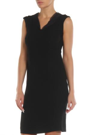Полуприлегающее платье с потайной молнией Costume National. Цвет: 900 черный