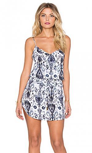 Мини платье noa Vix Swimwear. Цвет: белый