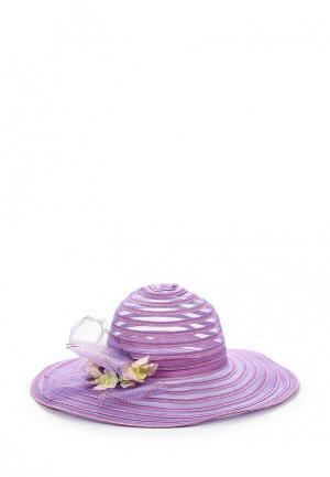 Шляпа Fete. Цвет: фиолетовый