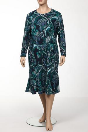Платье Shalle. Цвет: зеленый