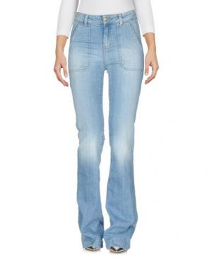 Джинсовые брюки BA&SH. Цвет: синий