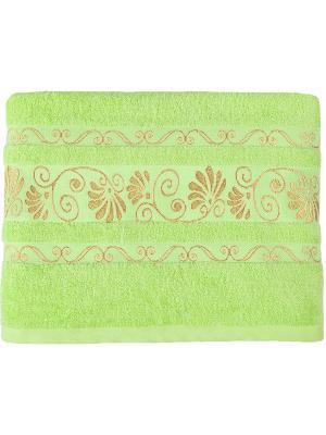 Полотенце BONITA. Цвет: светло-зеленый, золотистый