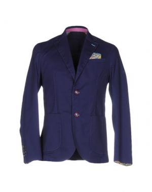Пиджак ROBERTO PEPE. Цвет: ярко-синий