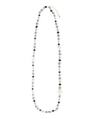 Ожерелье NORA BARTH. Цвет: серый