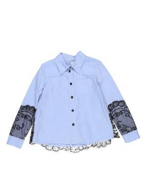 Pубашка PARROT. Цвет: лазурный