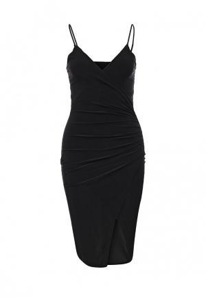 Платье Missi London. Цвет: черный