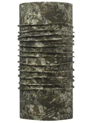 Бандана BUFF HIGH UV PROTECTION BUFFWITH INSECT SHIELD BARK MILITARY. Цвет: серый