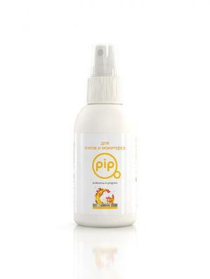 Экологичный очищающий спрей PiP для очков и мониторов, 100 мл. Цвет: белый