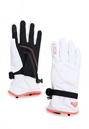 Перчатки горнолыжные Roxy. Цвет: белый