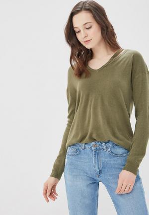 Пуловер Jacqueline de Yong. Цвет: хаки