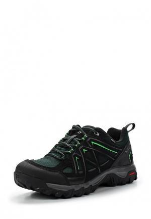 Ботинки трекинговые Salomon. Цвет: зеленый
