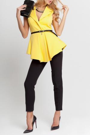 Комплект: жилет, брюки BEZKO. Цвет: лимон