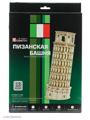Пазл Пизанская башня CubicFun. Цвет: бежевый
