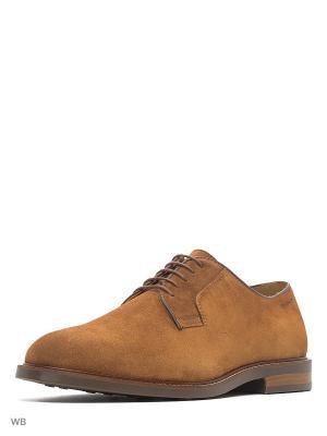 Туфли GANT. Цвет: светло-коричневый