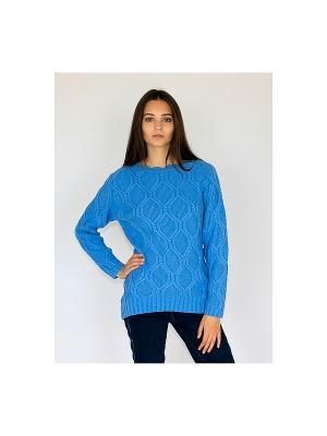 Свитер Wooly's. Цвет: синий